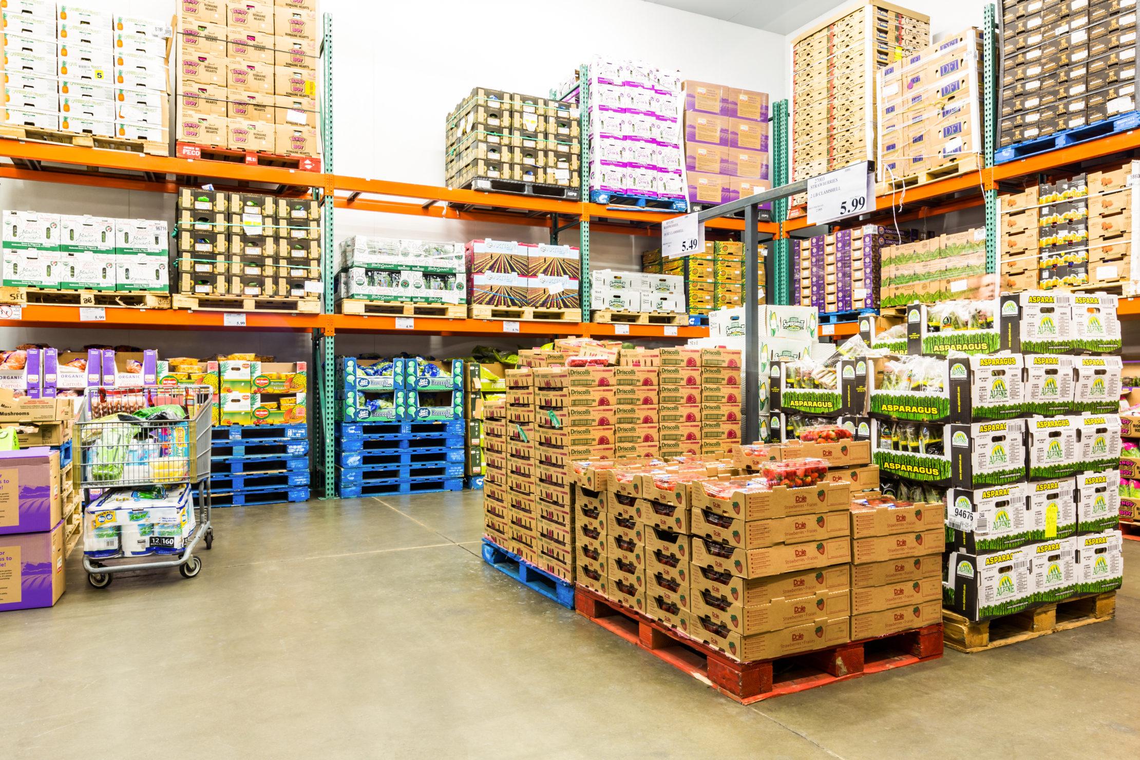 Lebensmittel Fulfillment (Bio zertifiziert)