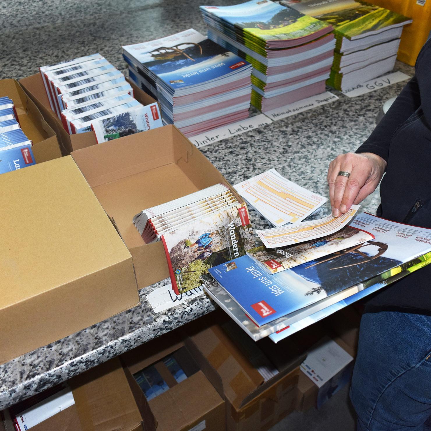 Katalogversand, Kataloge versenden und Prospektversand